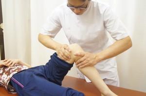 膝筋膜リリース