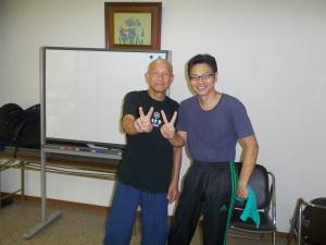 杉本錬堂先生の勉強会での一コマ