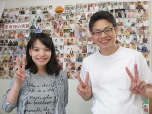 堺市新金岡から肩甲骨はがしを受けに来た産後の患者様