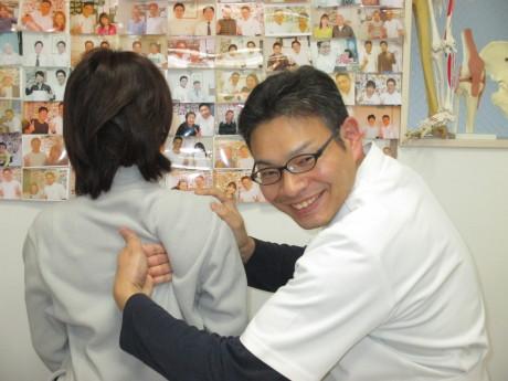 院長ナビを見て来院首肩の痛み東京都中野区の患者様