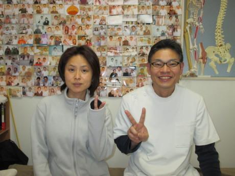 首肩の痛み東京都中野区の患者様