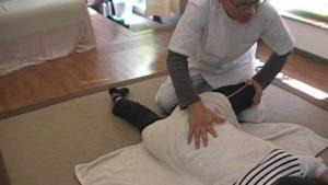 股関節と骨盤の調整