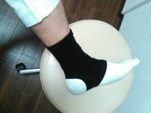 足のサポーターダイソー