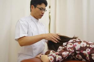 頭蓋骨調整法