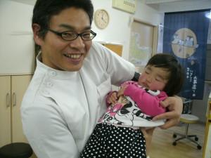 産後の骨盤矯正のお子さん