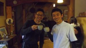 小松先生とツーショット