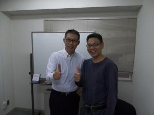 吉田先生とツーショット