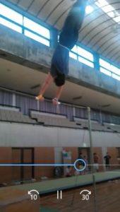 大車輪鉄棒体操