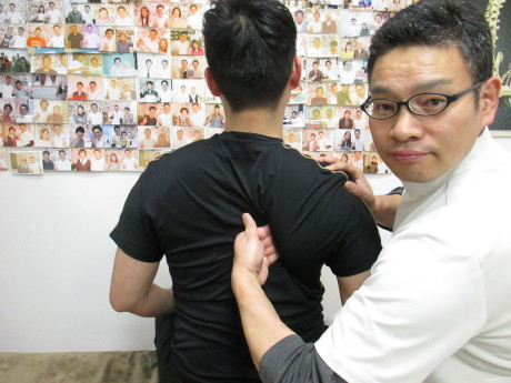 韓国肩甲骨はがし