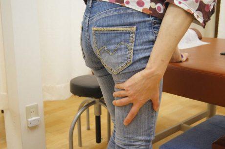 ハムスト筋挫傷大腿二頭筋