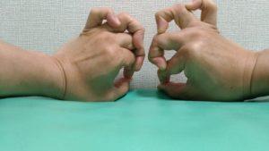 リウマチへバーデン結節プシャール結節の予防に指トレ