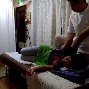 脇腹前鋸筋外腹斜筋のマニュプレーション