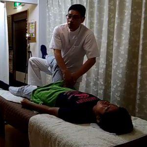 インナーマッスルの腸腰筋の癒着剥がし