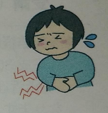 腹痛ノロウィルス