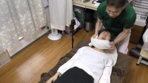介護士腰痛に首抜き整体